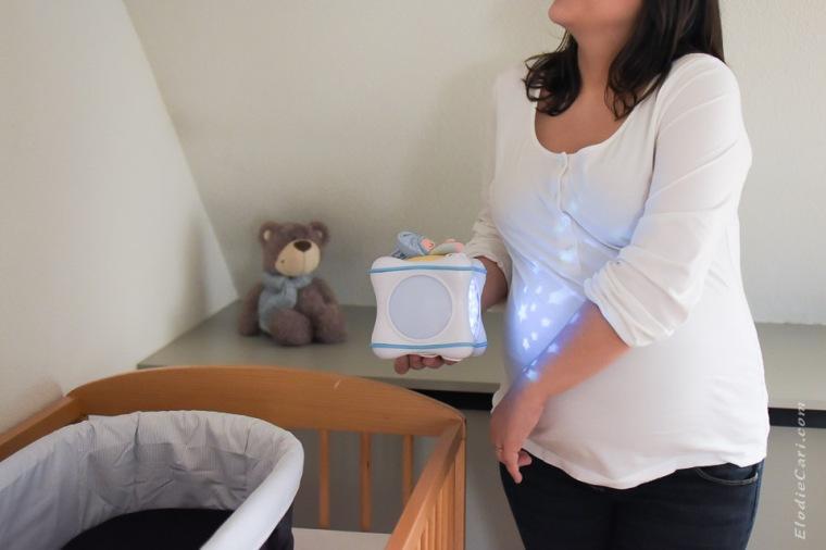 veilleuse attente grossesse doudou berceau