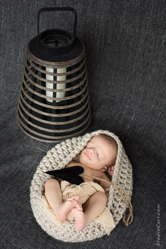 cadeau lanterne bébé coeur