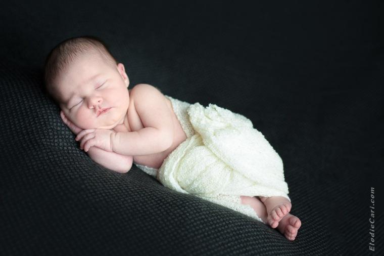 bébé dodo noir blanc