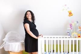 maman enceinte berceau bébé winnie