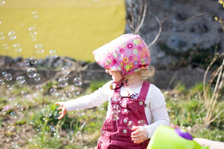 photographe bébé alsace bulles