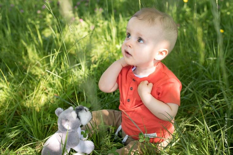 photographe alsace bébé doudou
