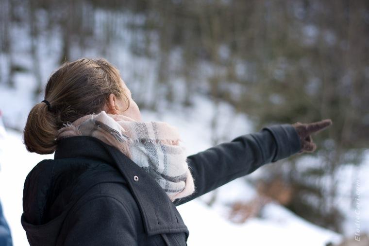 doigt neige hiver