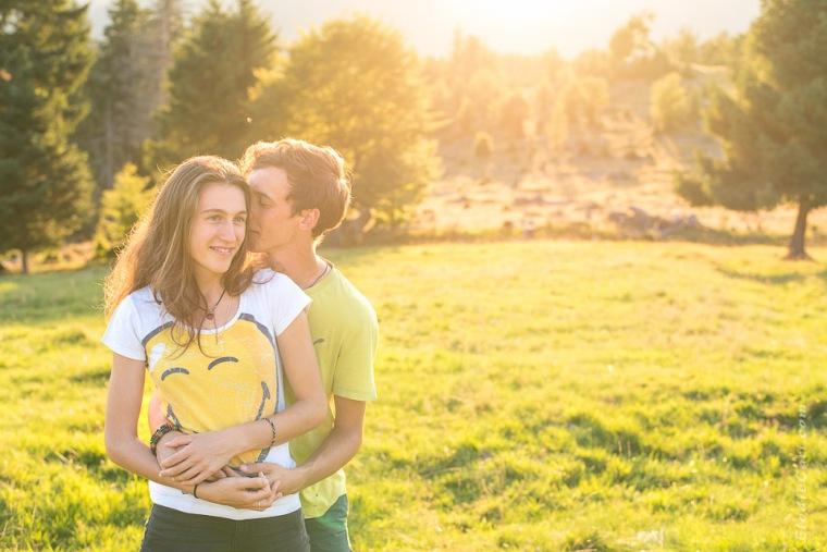 photographe couple soleil soir alsace vosges